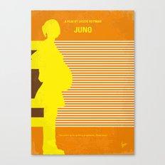 No326 My JUNO minimal movie poster Canvas Print