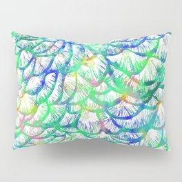 Preening Peacock Bright Pillow Sham
