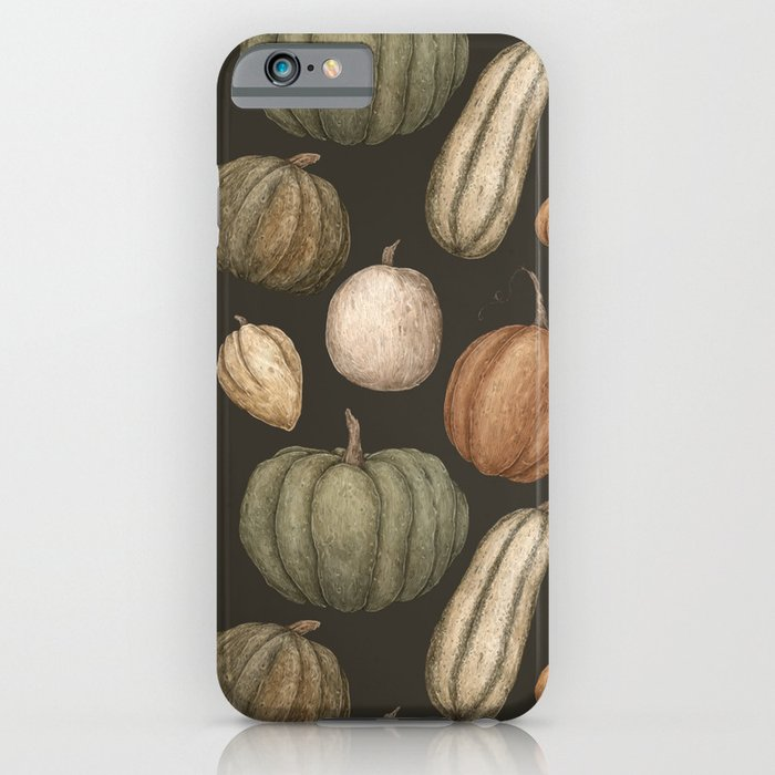Pumpkins and Gourds iPhone Case