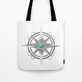 The Four Worlds Series Compass Tote Bag