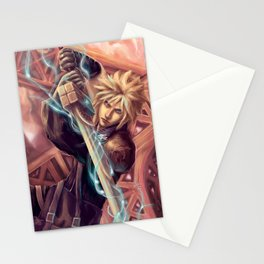 FFVII Advent Children Cloud Stationery Cards