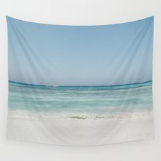 Crash Into The Sea Wall Tapestry