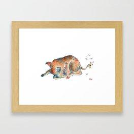 Boared Framed Art Print