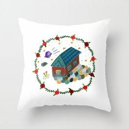 Their House Throw Pillow