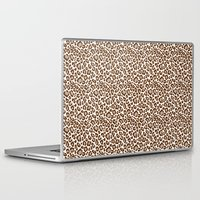 leopard Laptop & iPad Skins featuring Leopard by Zen and Chic
