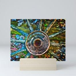 Colorful Decay Mini Art Print