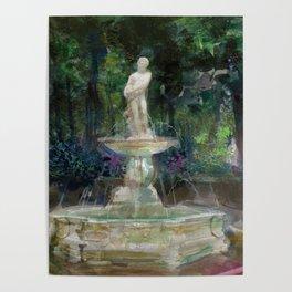 Apollo Fountain Poster
