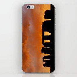 Stonehenge Sunrise, Wiltshire iPhone Skin