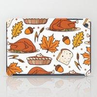 thanksgiving iPad Cases featuring thanksgiving by Ceren Aksu Dikenci