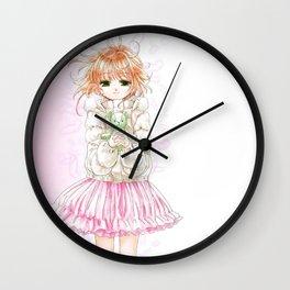 Sakura and Kero Wall Clock