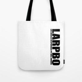 LARPBO Classic Black Tote Bag