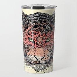 Masked Tiger Travel Mug