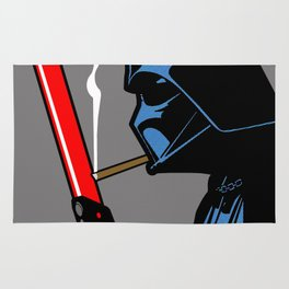 Vader Chillin (Grey) Rug