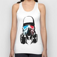 3d Tank Tops featuring 3D by Seizone