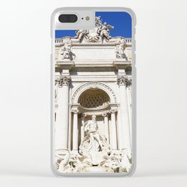 Make a Wish: Trevi Fountain in Rome, Italy Clear iPhone Case