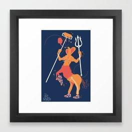 Tritaure Framed Art Print