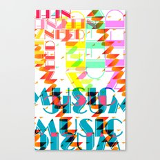 NEEDMusic Canvas Print