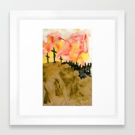 John 3:16 Framed Art Print