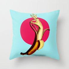 El Banana Throw Pillow