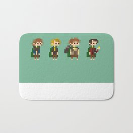 Frodo, Sam, Pippin and merry Bath Mat