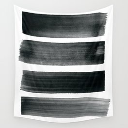 Four Brushes Wall Tapestry