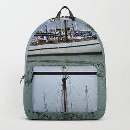 Harbor of Saint-Denis (Oleron) France Backpack