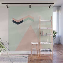 I Dream In Pink Wall Mural