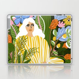 The Jungle Lady Laptop & iPad Skin