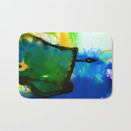 Abstract Bliss 4I by Kathy Morton Stanion Bath Mat