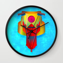 Graffiti Culture Wall Clock