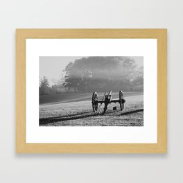 Civil War Cannon Framed Art Print