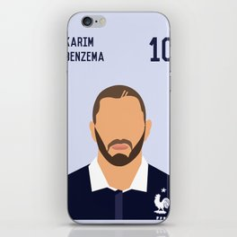 BENZEMA iPhone Skin