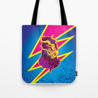 storm Tote Bags featuring Storm by HanYong