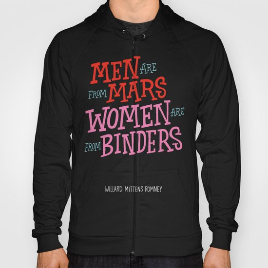 Men Are From Mars, Women Are From Binders Hoody