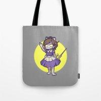 bioshock Tote Bags featuring Bioshock 2 Little sister by Kurodoj