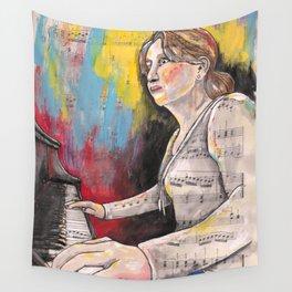 Piano 1 Wall Tapestry