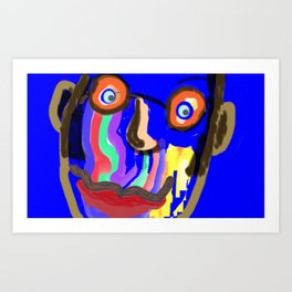 Salvador by Mickeys Art And Design.Biz Art Print