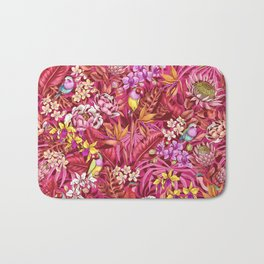 Stand out! (sunset flame) Bath Mat