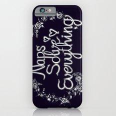 Naps Solve Everything Slim Case iPhone 6s
