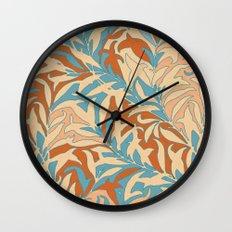 Motivo floral Wall Clock