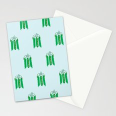 Vegetable: Snap pea Stationery Cards