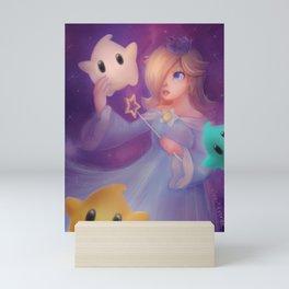 Rosalina & Luma Mini Art Print