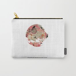 """A """"that's no Moon"""" shaped pool (IV) Carry-All Pouch"""