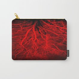 Twisted Perception Vampire Blood Red Carry-All Pouch