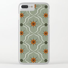 Retro Pattern 03 Clear iPhone Case