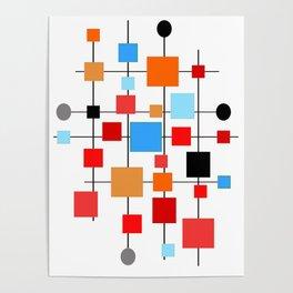 Mid-Century Modern Art 1.3.3 Poster