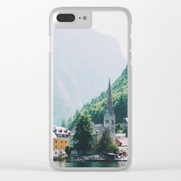 Hallstatt III Clear iPhone Case