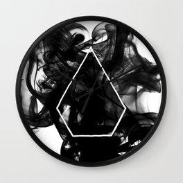 Black Smoke Wall Clock