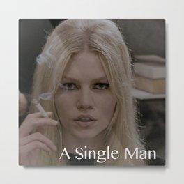 A Single Man Metal Print