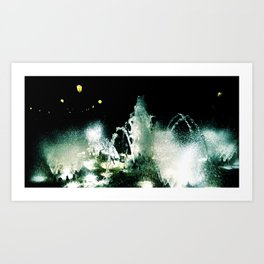 By the Waters Art Print